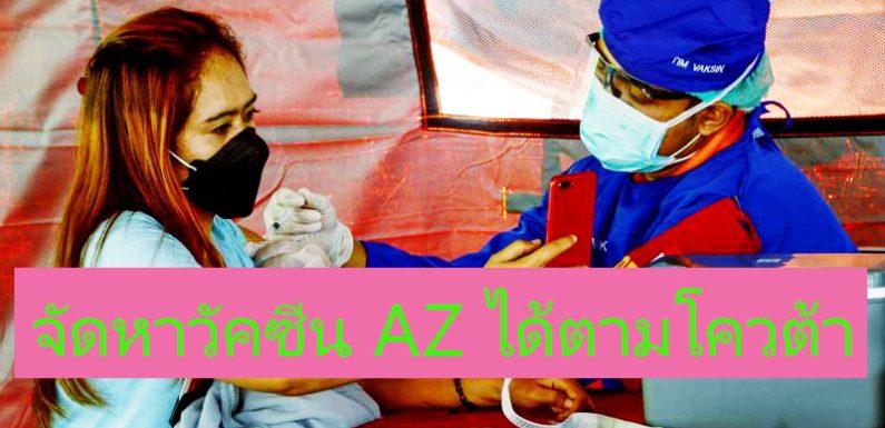 วัคซีนAstraZeneca สามารถจัดหาได้ตามโควต้า